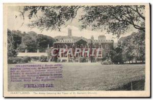 Old Postcard Postcards The Hartland Abbey