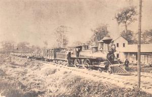 Panama Old Vintage Antique Post Card Panama Railroad Co, Iron Horses Derailed...