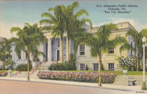 Albertson Public Library, ORLANDO, Florida, 1930-1940s