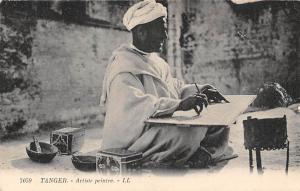 Morocco Maroc Tanger - Artiste peintre, Tangier