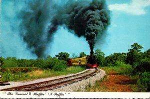 Georgia Stone Mountain Scenic Railroad The General II Huffin'...