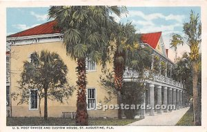US Post Office & Custom House - St Augustine, Florida FL