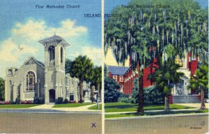 [ Linen ] US Florida Deland - Methodist Churches