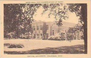 Ohio Columbus Mees Hall The Conservatory of Music Capital University Artvue