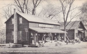 New York Chatham Center Red Wagon Country Store County Road 17 Artvue sk2257