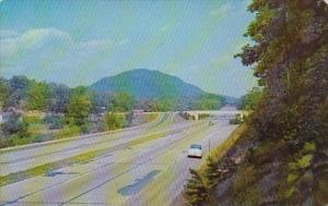 Pennsylvania Harrisburg Looking East At Fort Littleton Interchange Pennsylvan...