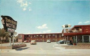 Amarillo Texas Autos 1965 Route 66 Town House Motel  Stryker Colorpicture 3359