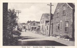 Artists Row Bearskin Neck Rockport Massachusetts Albertype