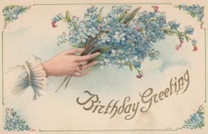 BIRTHDAY , Hands , 1900-10s ; #9