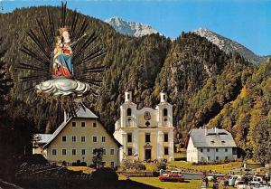 Maria Kirchental der bekannte Wallfahrtsort (St. Martin bei Lofer)
