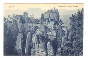 Basteibrucke, Bastei, Germany, 1900-1910s