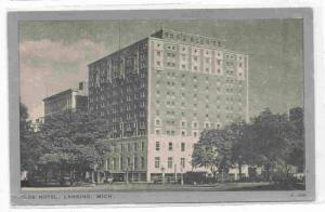 Olds Hotel, Lansing, Michigan, 1920-1940s