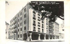 RPPC HOTEL MARQUES DEL VALLE Oaxaca, Mexico c1940s Vintage Photo Postcard