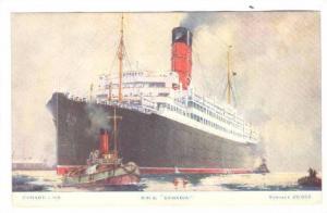 Ocean Liner SAMARIA , 00-10s Cunard LIne