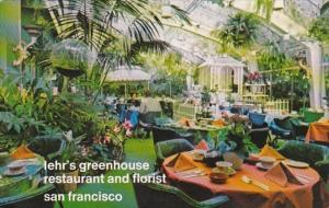 California San Francisco Lehr's Greenhouse Restaurant & Florist