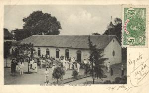 CPA Dahomey Afrique - Sortie de la Messe - Ouidah (86834)