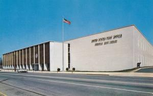 Exterior View of United States Post Office, Greenvile, South Carolina, 40-60´s