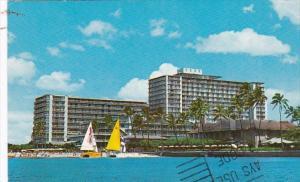 Hawaii Waikiki The Reef Hotel 1971