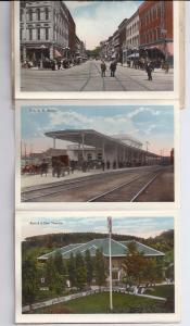 Elmira NY Vintage Souvenir Folder Rubin Bros. 24 Views