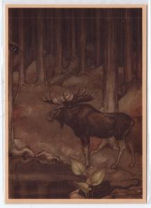 Moose by Anton Pieck
