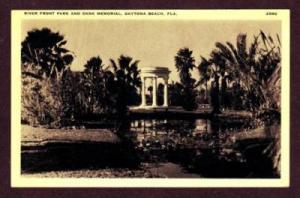 FL River Front  Park DAYTONA BEACH FLORIDA POSTCARD PC