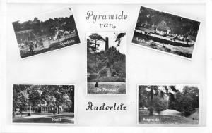 Austerlitz Czech Republic Multiview Real Photo Antique Postcard J54699