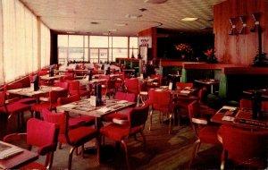 Kentucky Turnpike Shepherdsville Plaza Glass House Restaurant Dining Room 1965