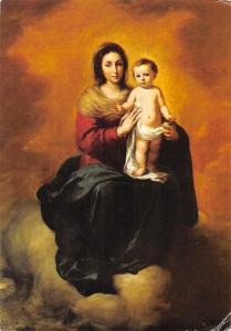 Rijksmuseum Amsterdam, Bartolome Esteban Murillo Madonna and Child Postcard