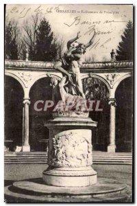 Postcard Old Versailles Removal of Proserpine