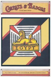 The Gloucestershire Berkshire & Wiltshire Regiment Crest Badge Military Postcard