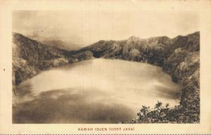 Dutch East Indisch Indonesia Kawah Idjen Ijen Oost Java 02.06
