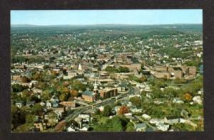 NH Aerial View DOVER NEW HAMPSHIRE Postcard PC