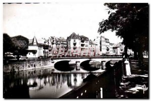 Old Postcard Images of France Belfort The tasty and the Carnot Bridge