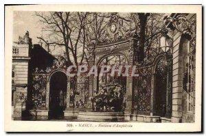 Old Postcard Nancy Fountain of Amphitrite