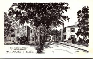 Massachusetts Mattapoisett Cannon Street Looking North