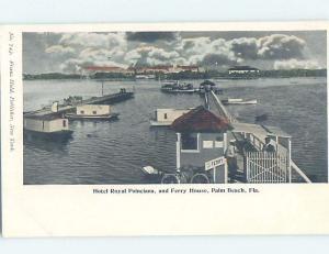 Pre-1907 FERRY BOAT HOUSE Palm Beach Florida FL A2757