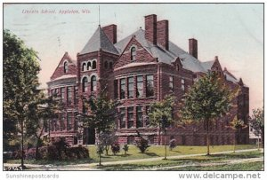 Lincoln School Appleton Wisconsin 1907