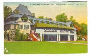 The Park Restaurant, Queen Victoria Park, Niagra Falls, Ontario, Canada PU-1939