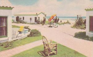 Florida Ormond Beach Coral Sands Cottages 1951