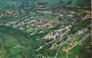 Kentucky Bardstown Aerial View Barton Distilling Company & Barton Museum ...