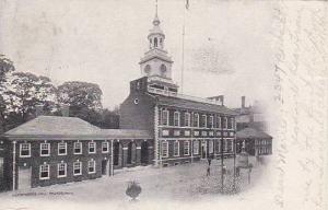Pennsylvania Phildelphia Indpendence Hall Phildelphia1906