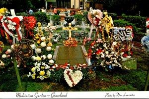 Tennessee Memphis Graceland Meditation Garden Elvis Presley's Grave