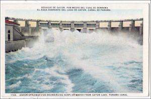 Gatum Spillway, Gatun Lake, Panama Canal