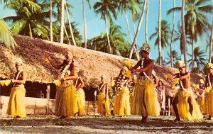 Tamure Dancers Bora Bora Tahiti Unused