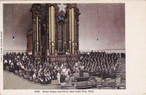 Great Organ And Choir Salt Lake City Utah