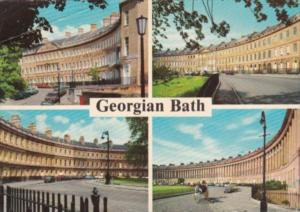 England Somerset PLace Lansdown Crescent The Circus & Royal Crescent