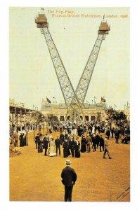 Nostalgia Postcard London 1908 The Flip-Flap Franco-British Exhibition NS24