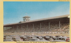 ALLENTOWN, Pennsylvania, 1940-60s; Grandstand, Fair Grounds during Fair Week