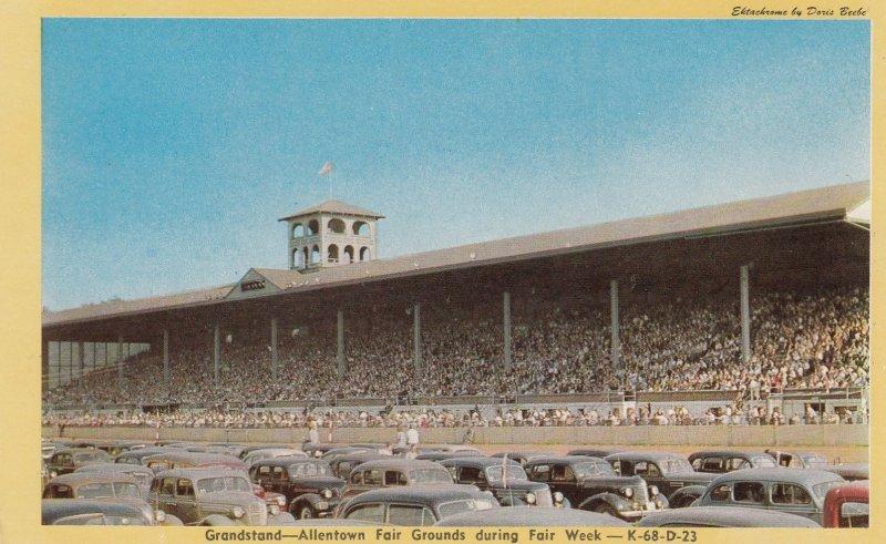 ALLENTOWN, Pennsylvania, 1940-60s; Grandstand, Fair Grounds during Fair Week