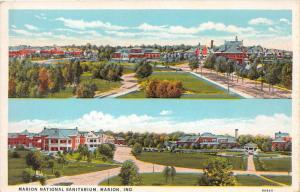 Indiana  Marion   Marion National Sanitarium  Aerial View
